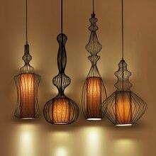 Vintage Industrial Lighting Pendant Lights suspension luminaire American Aisle Lamp dining room kitchen pendant light