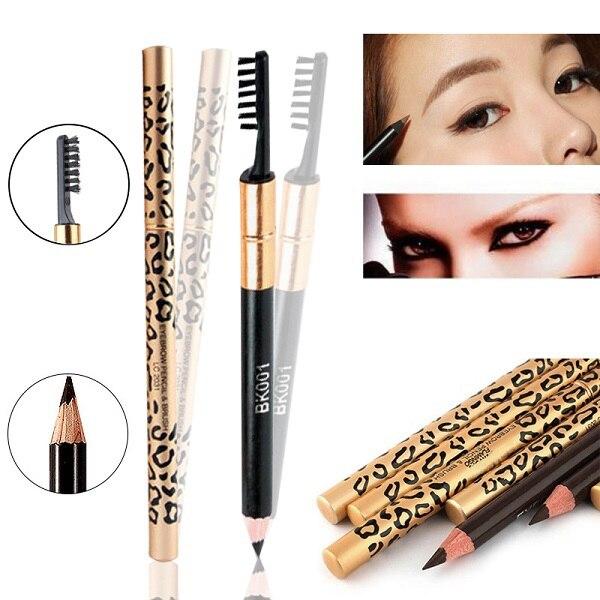 1 pc à prova dwaterproof água sobrancelha sombras longlasting compõem ferramenta maquiar sobrancelha lápis & pincel sobrancelha beleza maquiagem ferramentas