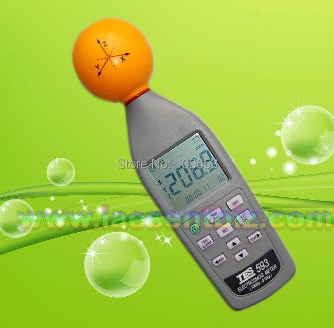 Probador de medidor EMF de 3 ejes Electro Smog de 2019 en oferta (10 MHz a 8,0 GHz) TES-593