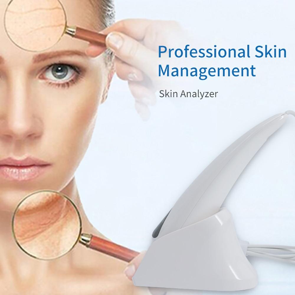 2019 nouveau logiciel professionnel de gestion de la peau, peut ajouter des produits de beauté. Épiderme/derme/couche uv triple analyse de la peau