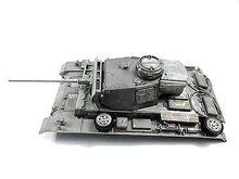 Mato 1/16 niemiecki Panzer III zbiornik rc metalowy górny kadłub z wieżą MT139 TH00830