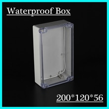 Boîtiers étanches IP68 en plastique abs   En plastique abs 200*120*56mm
