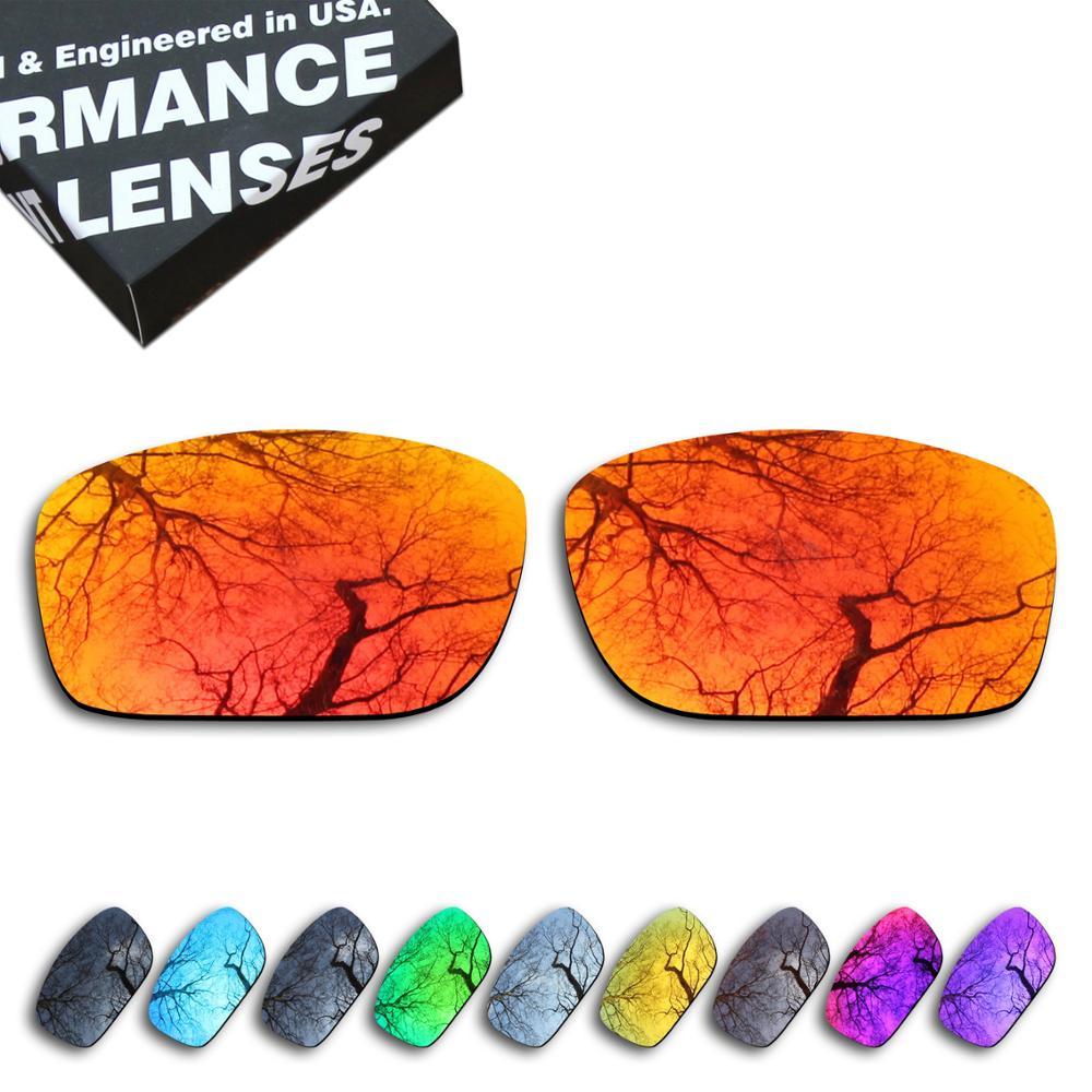 Lentes de repuesto polarizadas ToughAsNails para gafas de sol Oakley Mainlink-múltiples opciones