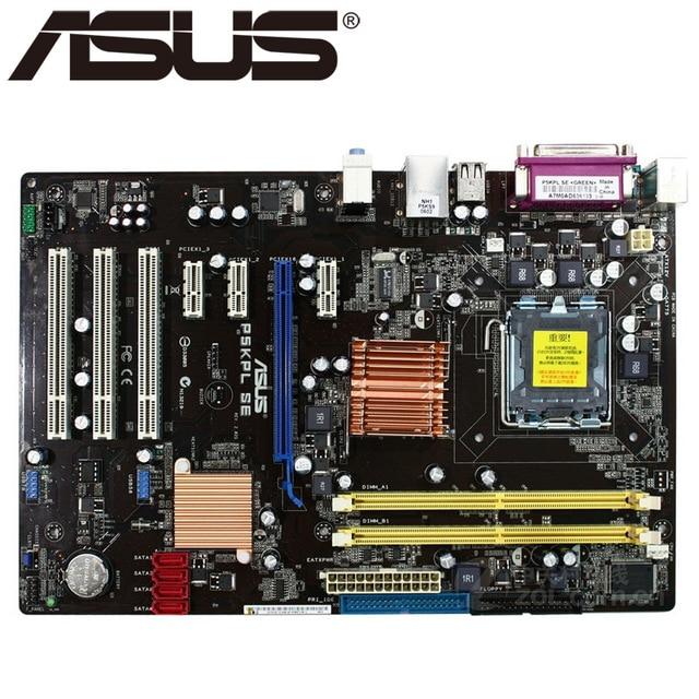 Placa base original para ordenador de escritorio ASUS P5KPL SE DDR2 LGA...
