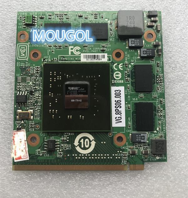 لأجهزة الكمبيوتر المحمول أيسر أسباير 5920G 5520 5920 غيفورسي VG.8PS06.001 8600 8600M GS G86-770-A2 MXM الثاني 256MB الرسومات VGA بطاقة فيديو