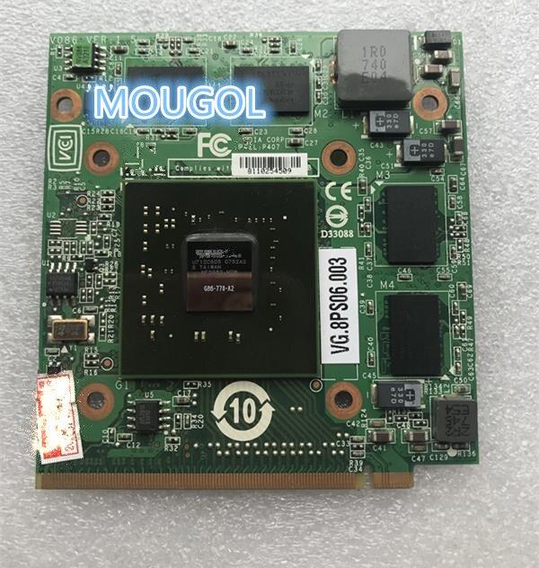 Para Ordenador portátil Acer Aspire 5920G 5520G 5920 VG.8PS06.001 GeForce 8600 de...
