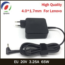 QINERN EU 20V 3.25A 65W 4.0*1.7mm chargeur dordinateur portable ca pour Lenovo IdeaPad 100-15 B50-10 YOGA 710 510-14ISK adaptateur secteur pour ordinateur portable