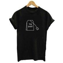 Été Vogue femmes T-shirt thé BALL lettre Harajuku impression T-shirt noir femmes à manches courtes col rond Streetwear femme T-shirt Tumblr haut