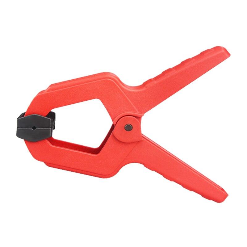 Trabajo de la madera Pinza de resorte de una forma de ingeniería de plástico de grado Clips de madera Hardware de madera bricolaje Nylon abrazaderas herramientas/2/3/4/6/7 pulgadas