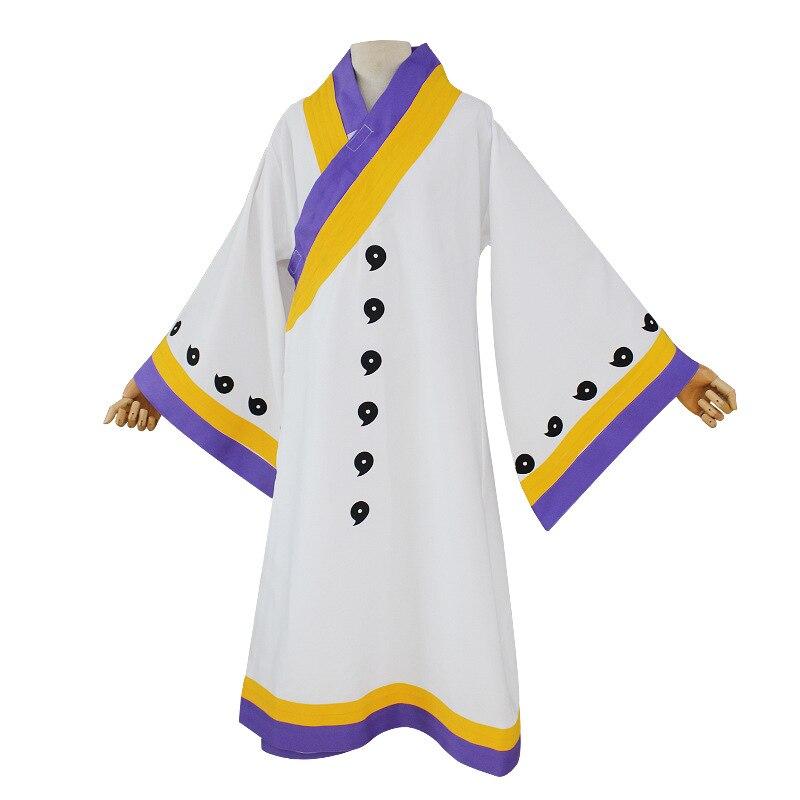 BOOCRE Anime NARUTO Cosplay oototuki Kaguya disfraces capa blanca ropa de Halloween