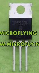 20PCSLine IRF530N-220 100V 17A MOSFET, Canal N de puerta de nivel lógico
