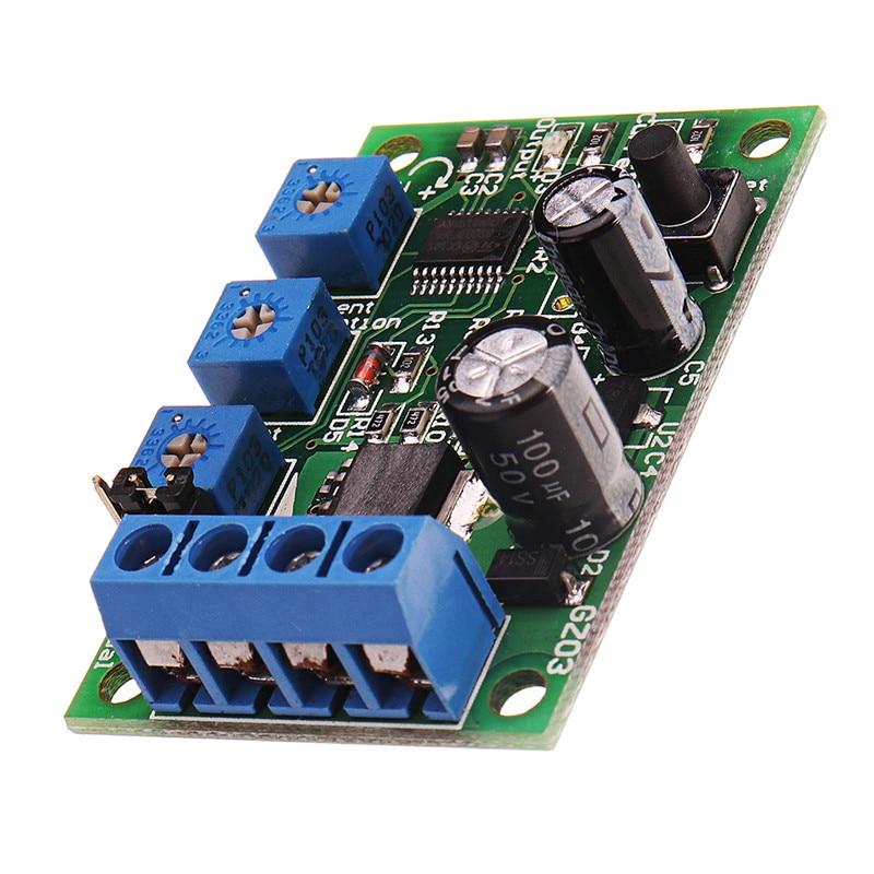 Durable 6V12V24V10A DC Motor Overcurrent Protector módulo Protector de sobrecarga con interruptor limitador de corriente ajustable