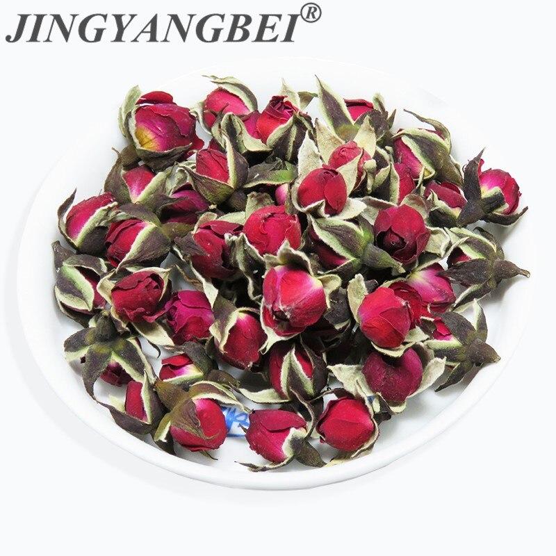 Novedad, flor seca Natural, minibrotes de Rosa Phnom Penh, centros de mesa DIY para boda, accesorios de habitación, regalo para novia, 20g fragante