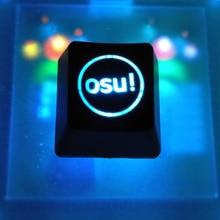 2 stks Backlight OSU Keycaps voor Cherry Toetsenbord Backlit Mechanische Toetsenbord Keycap