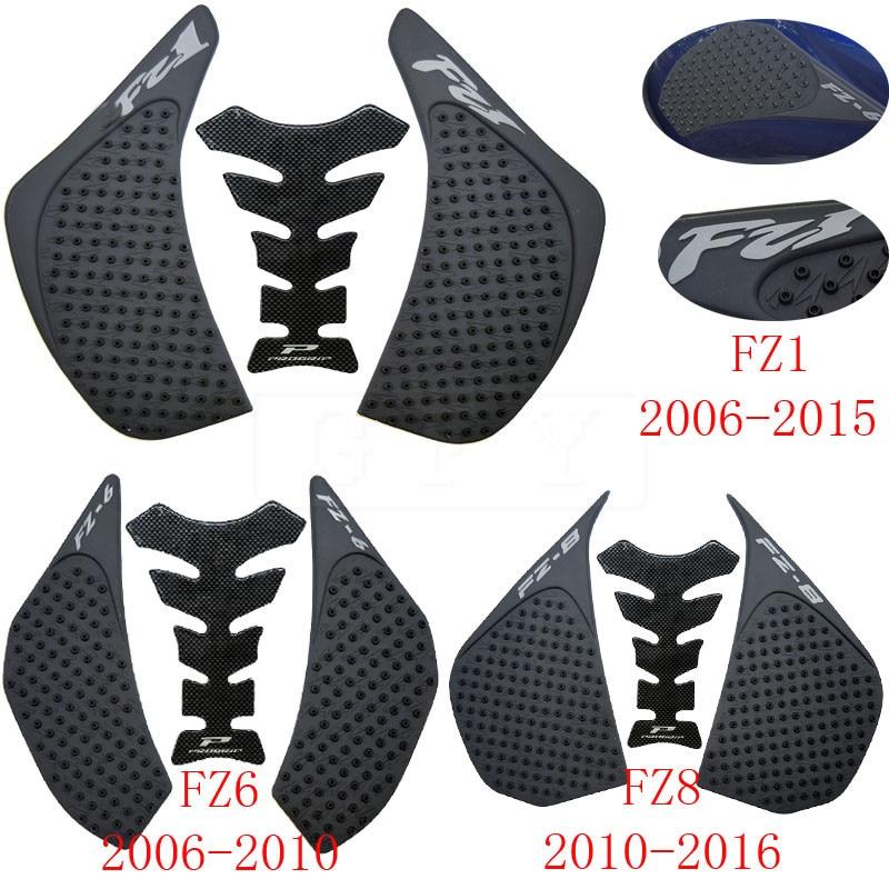 Для Yamaha FZ1 FZ-1N FZ1N FZ1S FZ 1S 06-16 2017 2018 2019 FZ6 FZ6N 06-10 FZ8 N/S FZ8N 10-16 FZ1 противоскользящие наклейки на бак