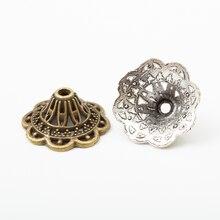 30pcs Tassel Bead Cap Vintage zinc alloy metal pendant charms for diy jewelry making 5655