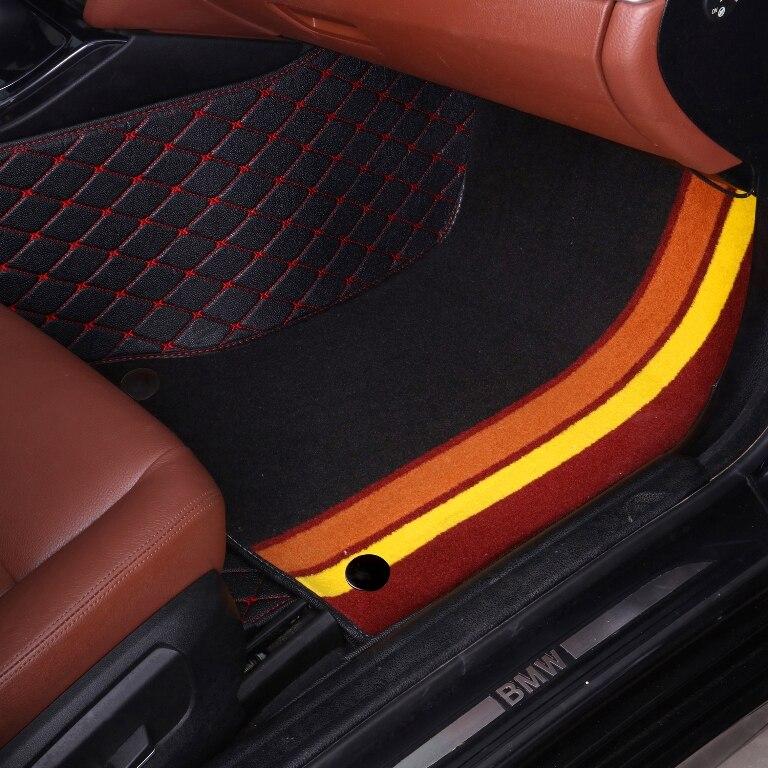 Alfombrillas de coche hechas para Toyota Prius XW30 Vios 5D, funda completa con estilo para coche, alfombrillas antideslizantes perfectas (2009-)