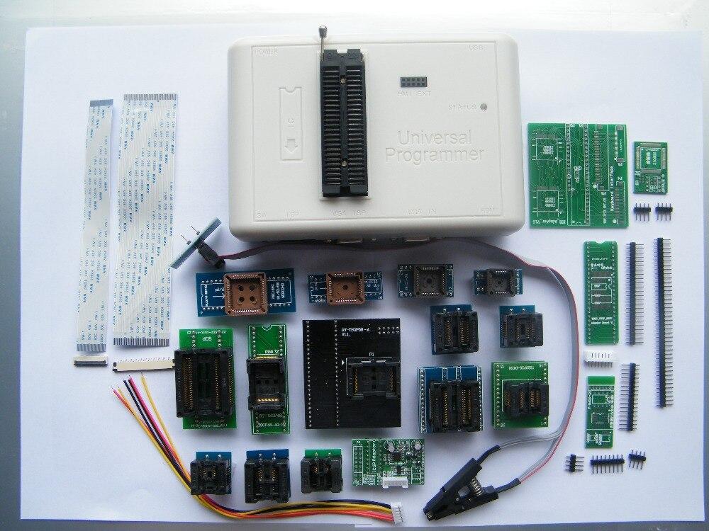 مبرمج فلاش RT809H EMMC-Nand FLASH RT809H أصلي 100%, شحن مجاني ، مبرمج عالمي ، RT809H أفضل من محولات RT809F + 20