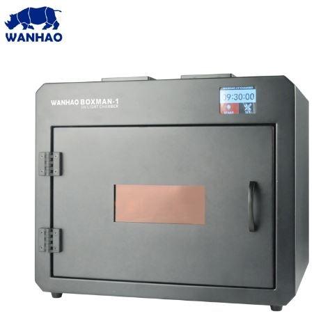 WANHAO Boxman-1 علاج مربع الأشعة فوق البنفسجية علاج غرفة 405nm الأشعة فوق البنفسجية