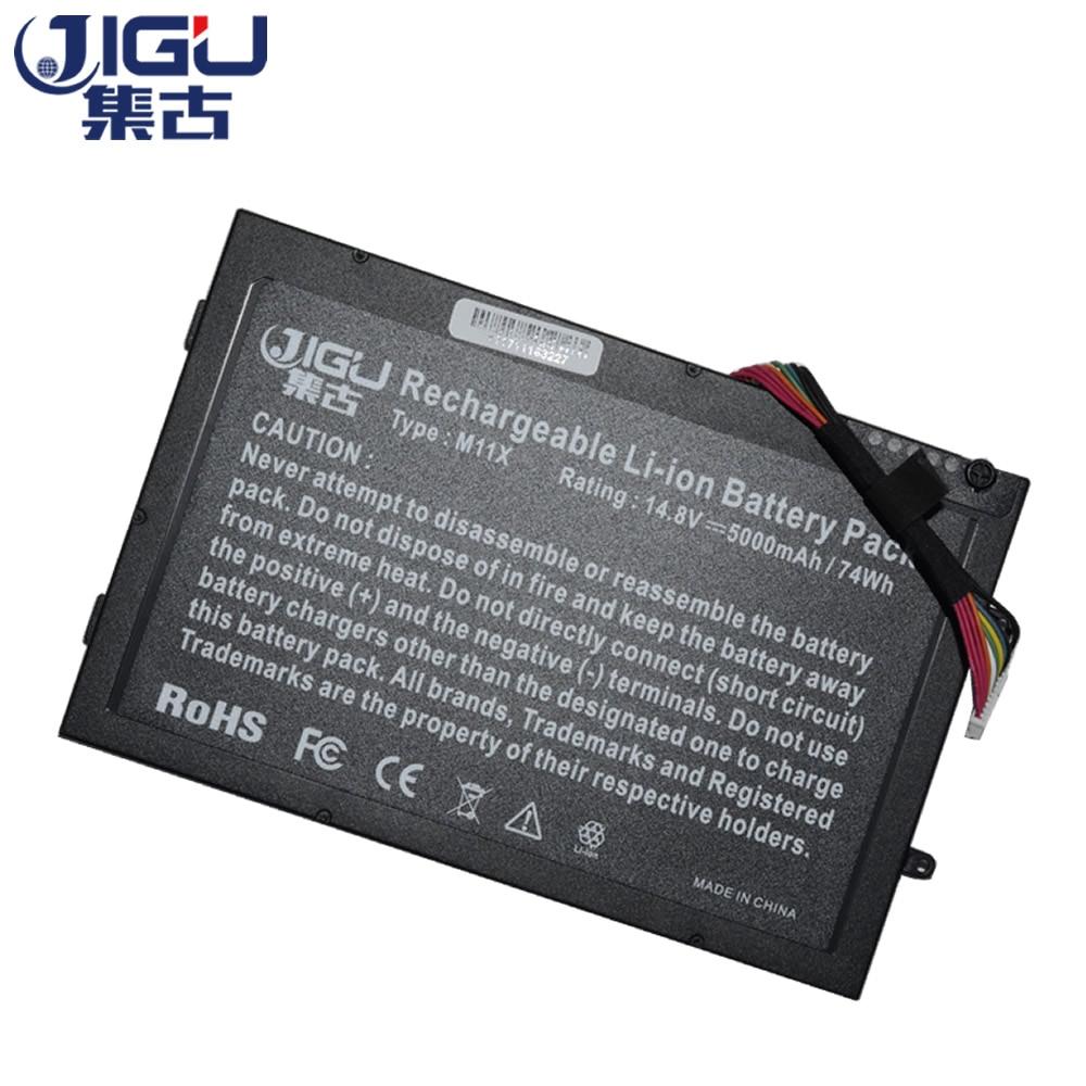 JIGU, batería para ordenador portátil, 08P6X6 8P6X6 P06T T7YJR PT6V8 para DELL...