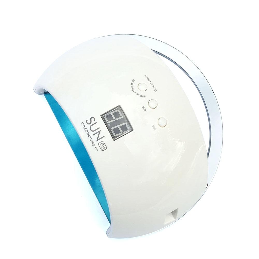 Lampe UV 48 W pour ongles lampe LED pour ongles SUN6s avec détection automatique daffichage à cristaux liquides