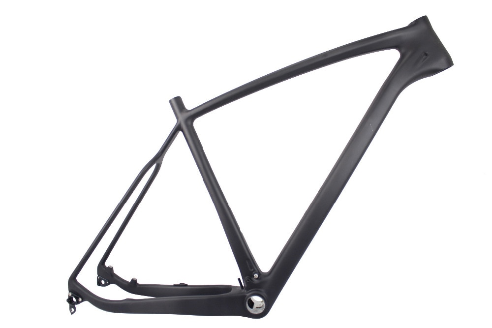 Milagro 27.5er Super luz T1000 Cuadro De Carbono 650B ultraligero T1000 completa cuadro de bicicleta de montaña de carbono BB92 19in 21in UD mate