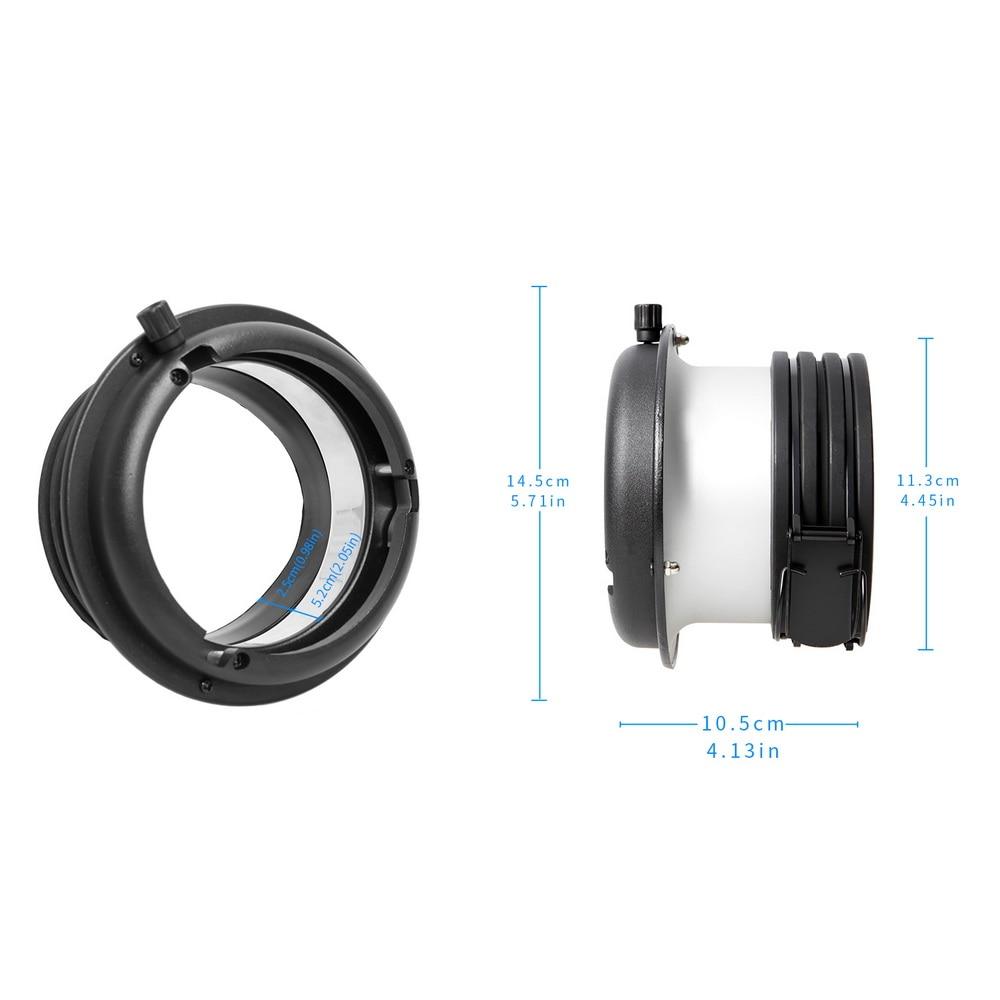 Адаптер Speedring Profoto Head to Bowens Mount Converter для софтбокса Snoot Beauty Dish Studio Lighting Accessories Fotografia