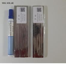 Проволока для припоя солнечных батарей, медная лента с Оловянным покрытием высшего качества для сварки солнечных батарей. Соединительная проволока для панели солнечных батарей DIY.CE ROS