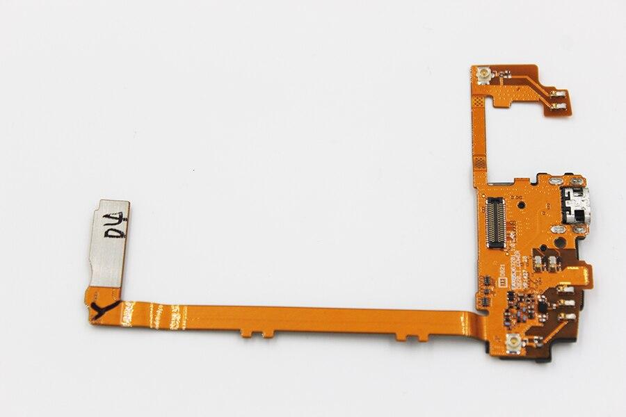 Oudini для LG Nexus 5 D821 D820 USB зарядный порт USB гибкий кабель для наушников микрофон