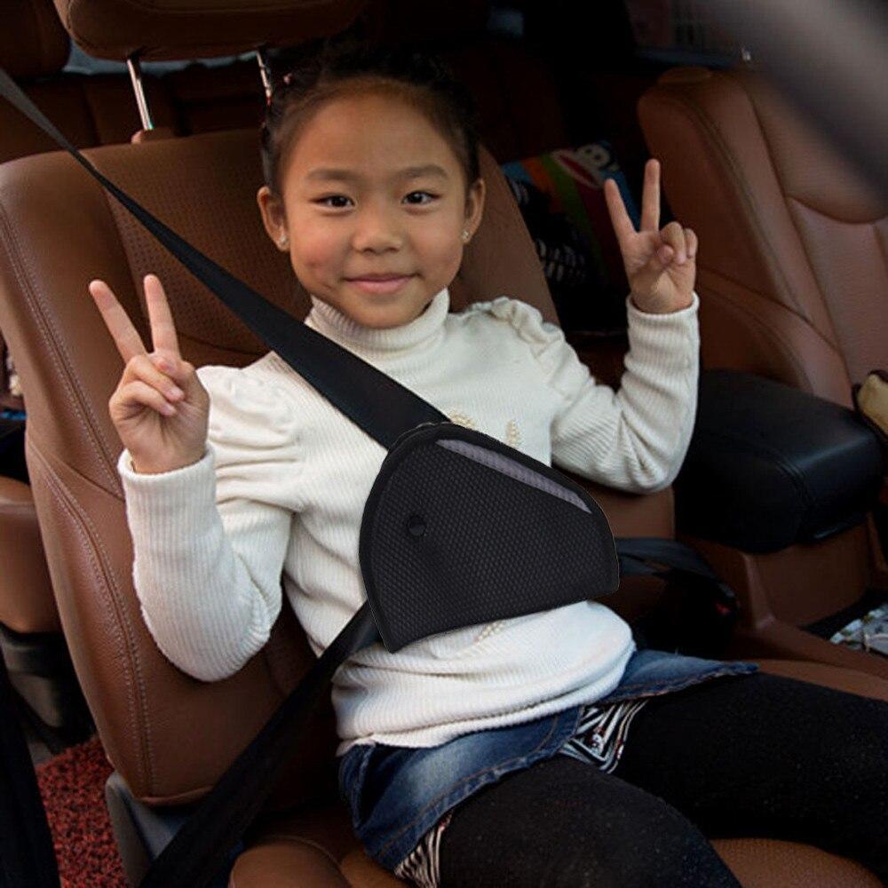 Cubierta de seguridad para niños, soporte de cinturón de seguridad para el hombro, ajuste resistente, protección ajustable, seguridad estable, cinturón de seguridad para niños Fixe