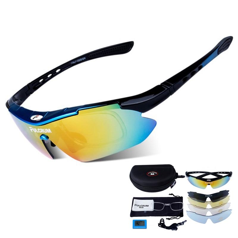 Gafas de sol polarizadas para ciclismo, gafas de sol polarizadas, gafas de sol polarizadas, 5 lentes