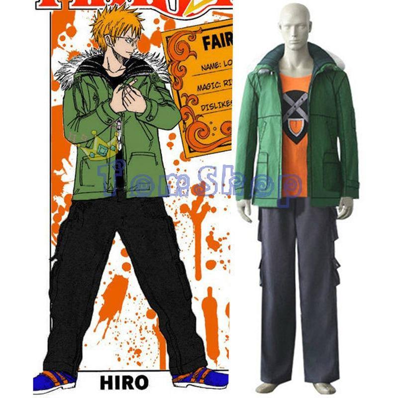 Aime Fairy Tail Loke Loki Cosplay Uniform Suit Full Set Mens Halloween Costumes Custom Made Free Shipping