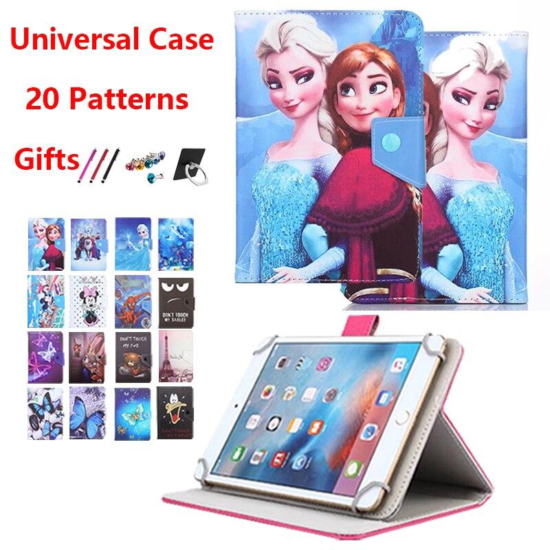 Capa universal para tablet 7 Polegada, lenovo tab e7 4 3 7 tb essencial-7504/7304 710/tab 2 A7-30/A7-20 A7-10 a3300 a3500 s5000