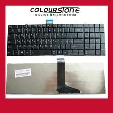 Haute qualité nouveau pour Toshiba Satellite C850 C850D C855D C870 C870D C875D série 5 pièces/lot russie clavier noir