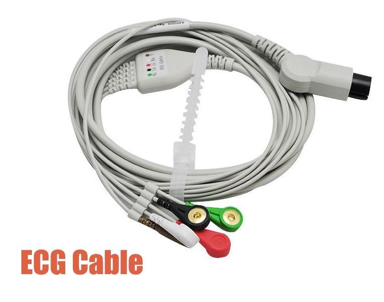 Novo 5 Leva A Cabo para Monitor Paciente CONTEC CMS6000/7000/8000/9000