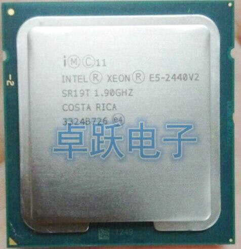 E5 2440V2 Original Intel Xeon E5-2440V2 1,90 GHz 8-Core 20MB LGA1356 E5 2440 V2 95W envío gratis E5 2440V2