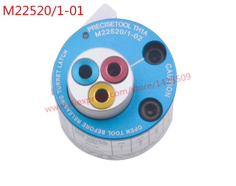 De calidad superior de DMC TH1A/M22520/1-02 TH1A torreta cabeza posicionador-2 pack 0.128- 4
