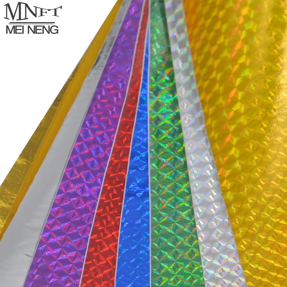 Голографическая клейкая лента MNFT, 6 шт., 10*20 см