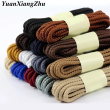 1 Pair Round Shoelaces for Fashion Casual Sneakers Leather Shoes Martin Boots Laces Length 80/100/12