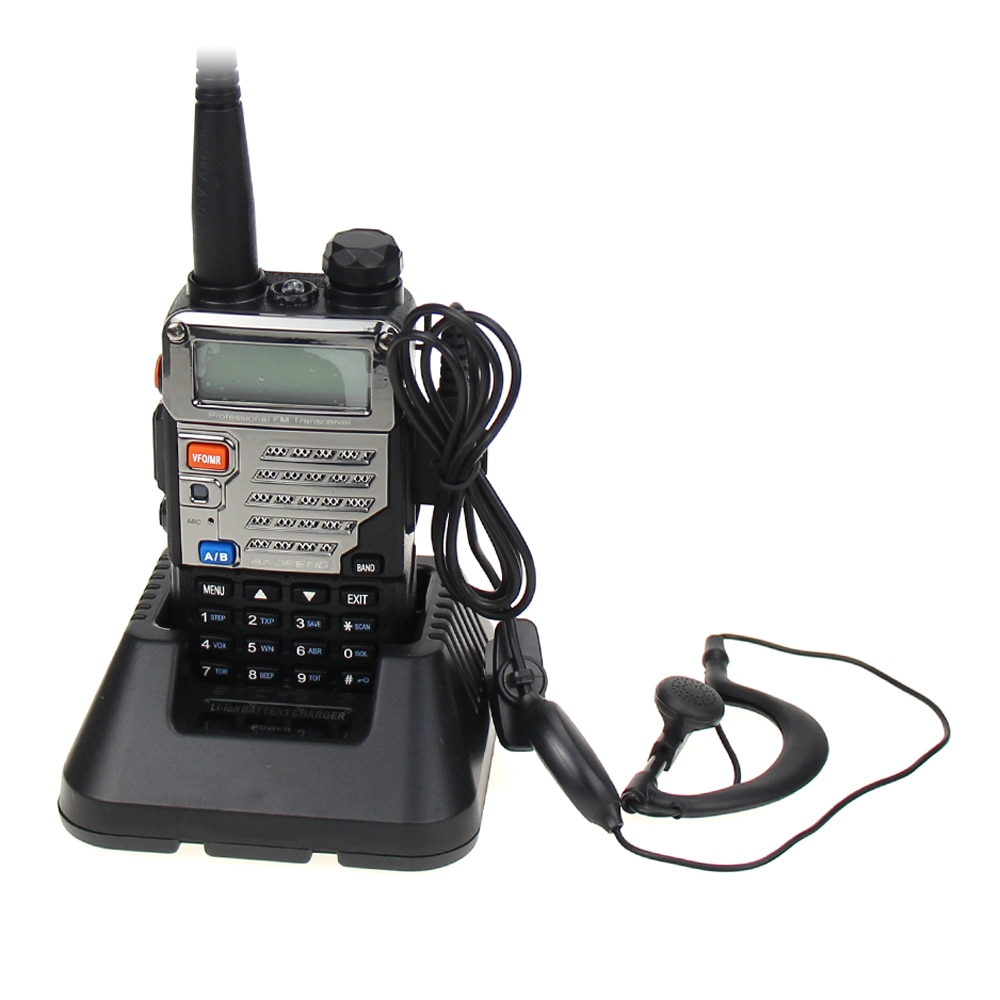 New Baofeng UV-5RE Walkie Talkie Dual Band VHF UHF 136-174/400-520MHz FM Transceiver Portable 5W Two Way Handheld Radio Scanner