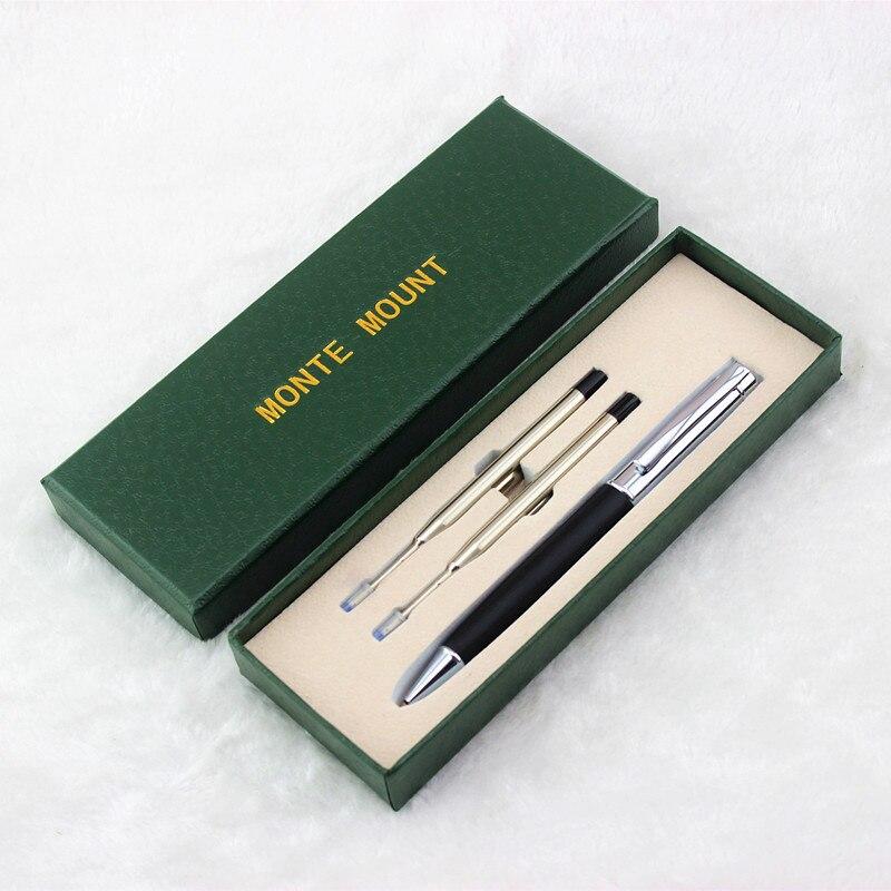 Роскошная школьная металлическая шариковая ручка, роскошная Шариковая ручка для деловых подарков, письменные принадлежности для офиса и ш...