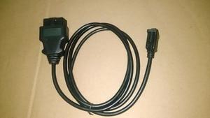 Image 3 - Интерфейсный кабель CNPAM с номером отслеживания высокого качества OBD2 OBD RS232, 16 контактный последовательный порт DB9, гнездовой разъем адаптера, 1,1 м