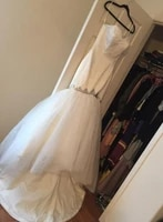stock real pictures mermaid plus size wedding dresses 2019 sexy sweetheart with crystal beads bridal gown