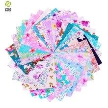 Cotton Fabric Telas Patchwork Fabric Charm Quarter Bundles Fabric For Sewing  DIY Crafts Patchwork Pillow10*10cm 30pcs/lot