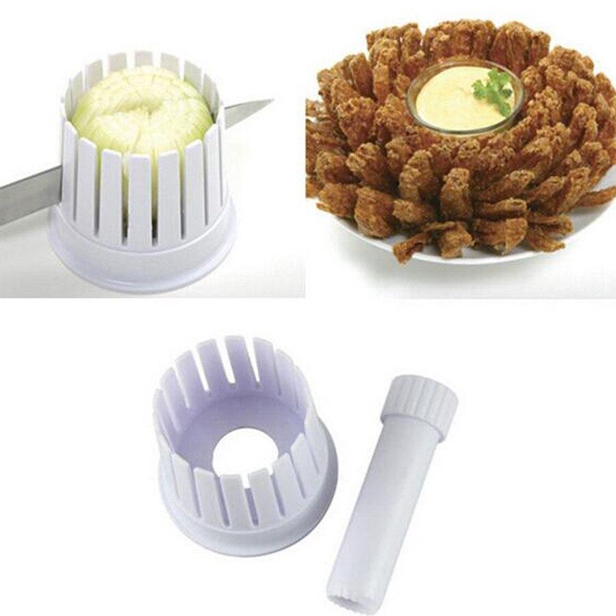 1PC cebolla Blossom Maker cebolla cortador de corte de fabricante de corte de cebolla cocina vegetal herramienta QA 128
