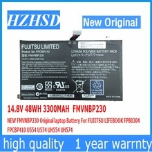 14.8 V 48WH 3300 MAH FMVNBP230 Dorigine batterie dordinateur portable Pour FUJITSU LIFEBOOK FPB0304 FPCBP410 U554 U574 UH554 UH574