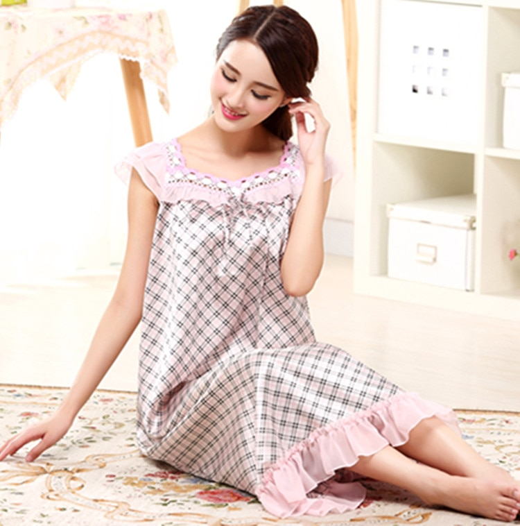 Yomrzl A512, recién llegado, camisón de verano para mujer de ruffes, vestido largo para dormir de una pieza, vestido de noche de princesa, ropa interior