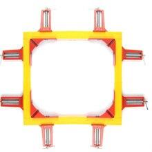 Pinces dangle à onglet rouge   4 pièces 75mm, support pour cadre photo travail du bois à Angle droit rouge