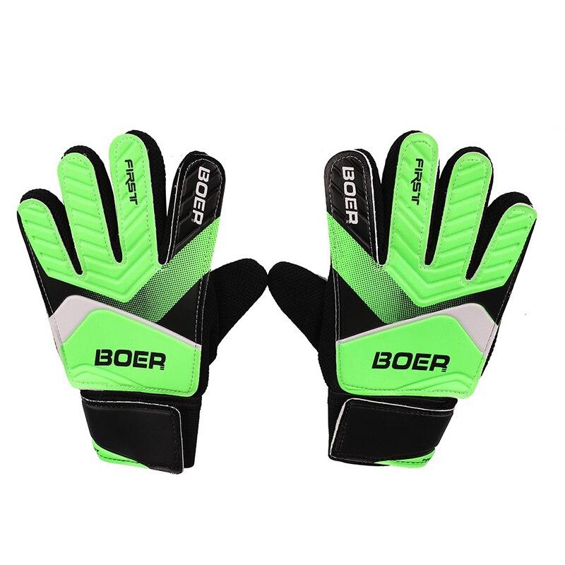 Nuevos guantes de portero, guantes de goma antideslizantes para fútbol, accesorios de ropa de fútbol para portero