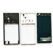 100% nouveau cadre avant cadre moyen pour Lenovo P70 face avant lunette + pièces de réparation de plaque centrale